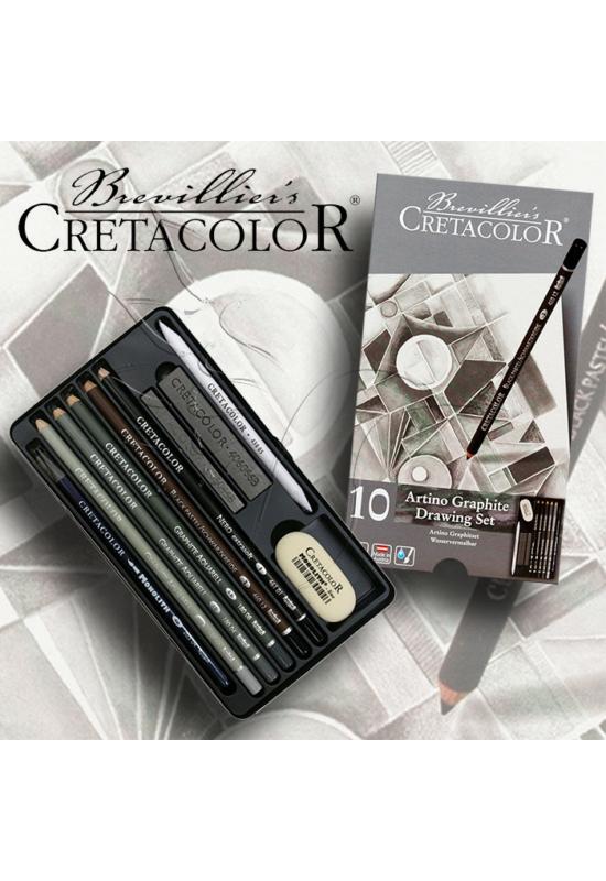 CRETACOLOR ARTINO GRAPHIT rajzkészlet - 10db-os