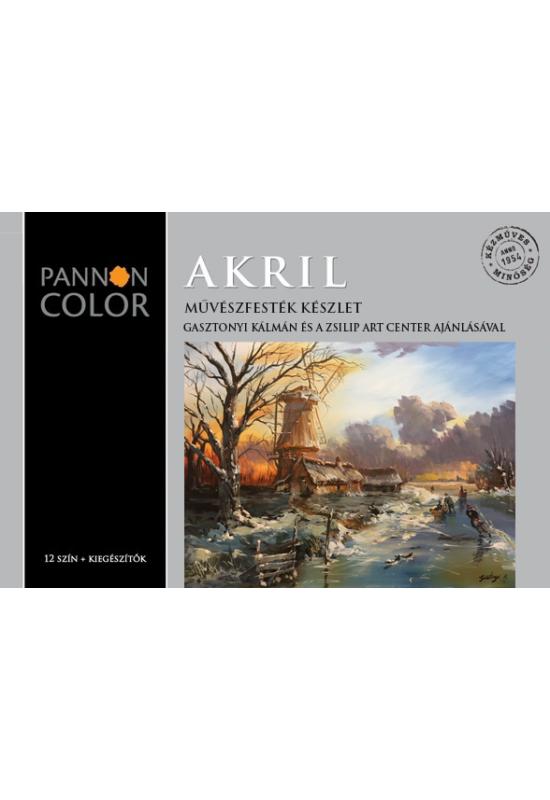 ZSILIP AKRILFESTÉK KÉSZLET - Pannon Color