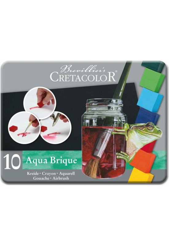Cretacolor Aqua Bridge 10 Db-Os Szilkés Akvarell Készlet