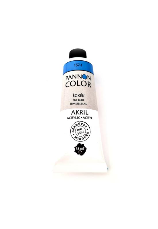Pannoncolor - 38ml - Akrilfesték Égkék