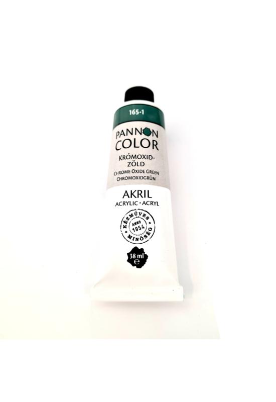 Pannoncolor - 38ml - Akrilfesték Tüzes Krómoxidzöld Imitáció
