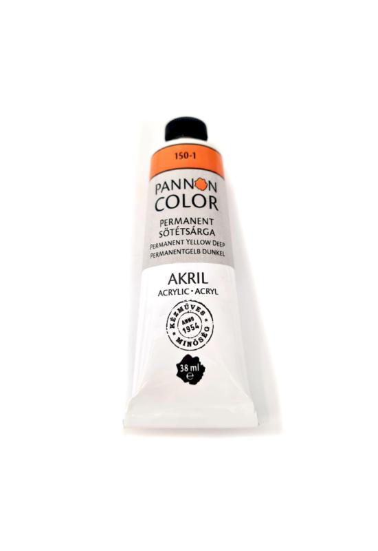 Pannoncolor - 38ml - Akrilfesték Permanent Sötétsárga