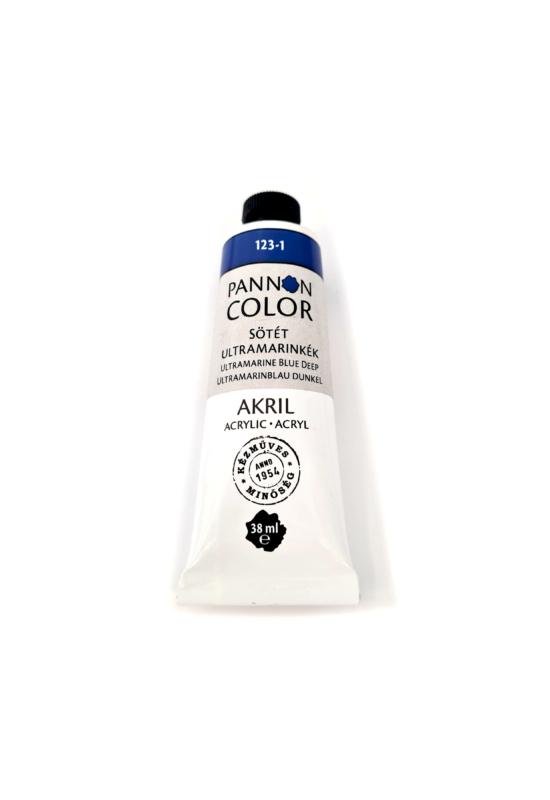 Pannoncolor - 38ml - Akrilfesték Sötét Ultramarine Kék