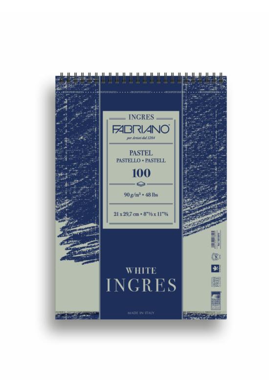 FABRIANO INGRES, 90GSM, 100 LAP - 21X29,7 CM,