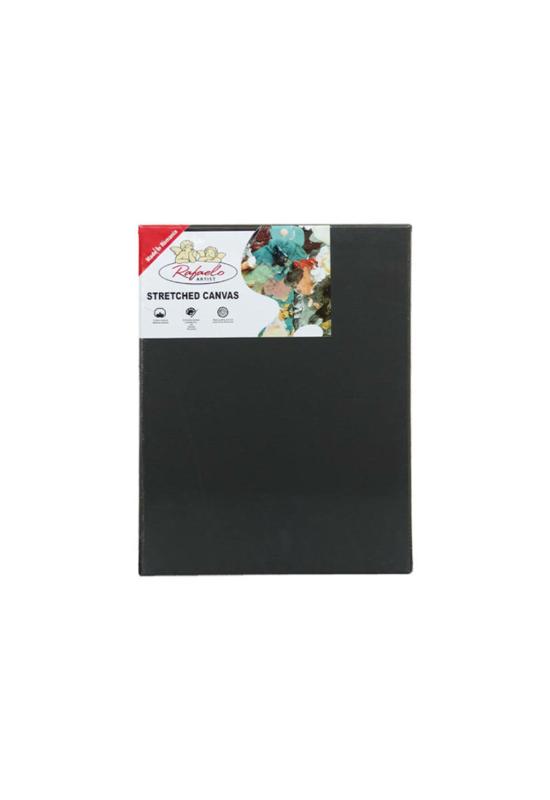 Rafaelo feszített festővászon - fekete -  40x80