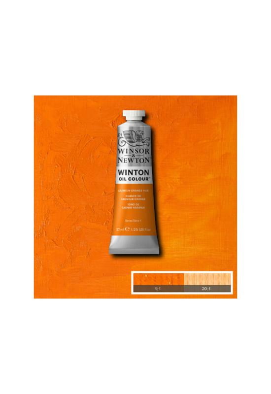 Winsor&Newton Kadmium Narancs, Olajfesték 37 ml, 090