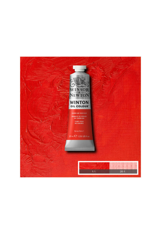 Winsor&Newton Kadmium Vörös, Olajfesték 37 ml, 095