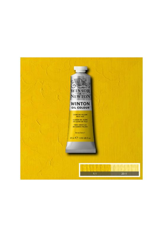 Winsor&Newton Kadmium Világos Citromsárga, Olajfesték 37 ml, 119