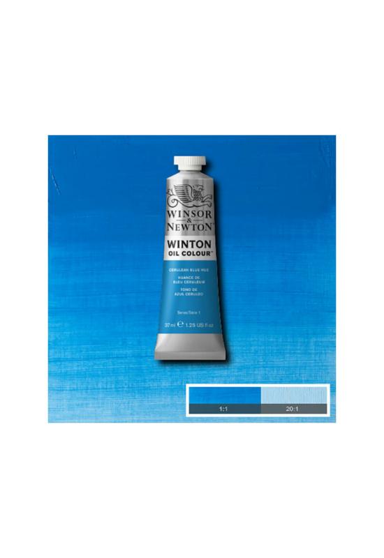 Winsor&Newton Cölin kék, Olajfesték 37 ml, 138