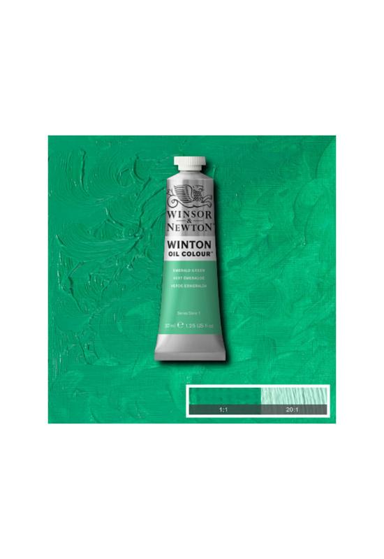 Winsor&Newton Smaragd Zöld, Olajfesték 37 ml, 241