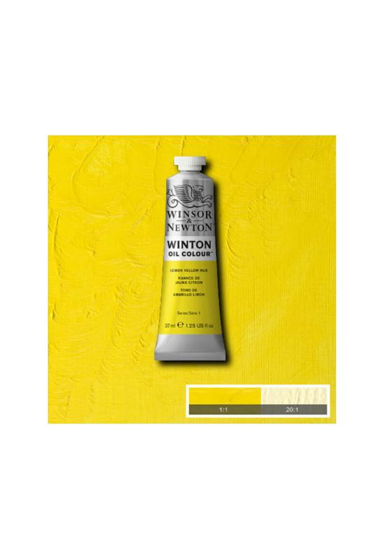 Winsor&Newton citromsárga Olajfesték 37 ml, 346