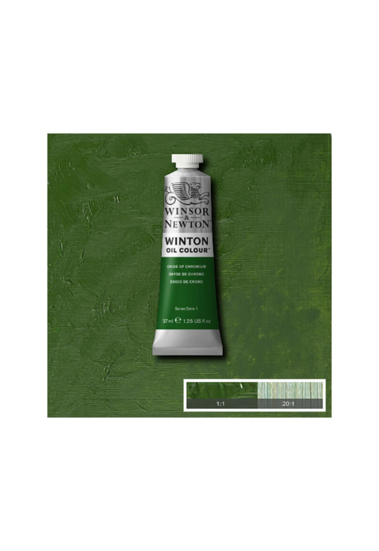 Winsor&Newton Krómoxid Zöld, Olajfesték 37 ml, 459
