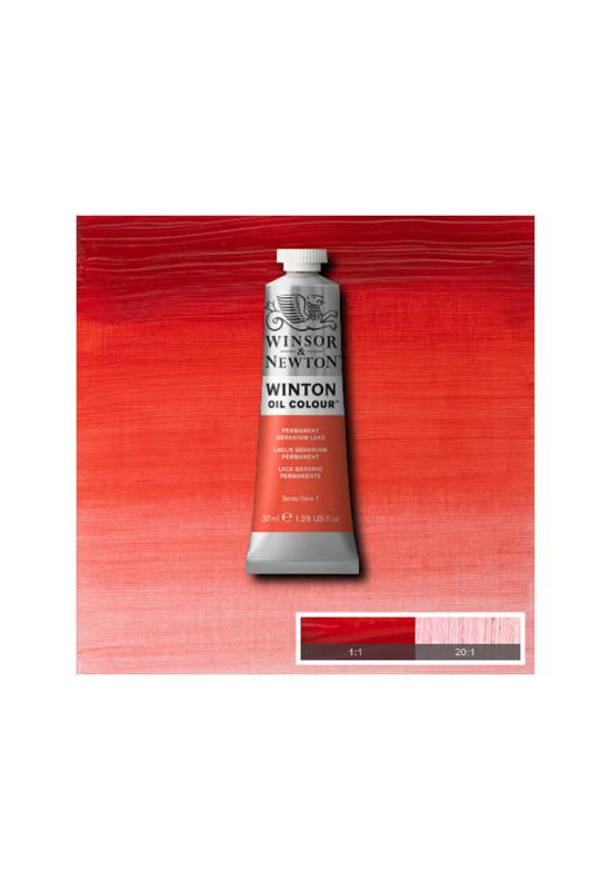 Winsor&Newton Geranium Vörös, Olajfesték 37 ml, 480