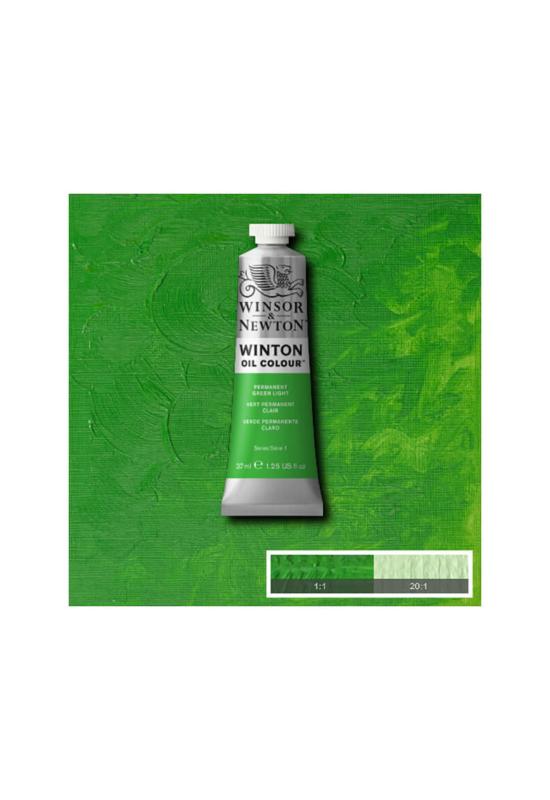 Winsor&Newton Permanent Világos ZöldOlajfesték 37 ml, 483