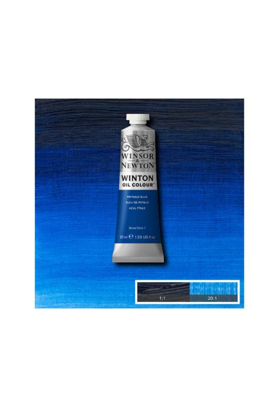 Winsor&Newton Phtalo Kék, Olajfesték 37 ml, 516