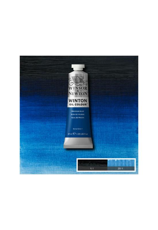Winsor&Newton Párizsi Kék, Olajfesték 37 ml, 538