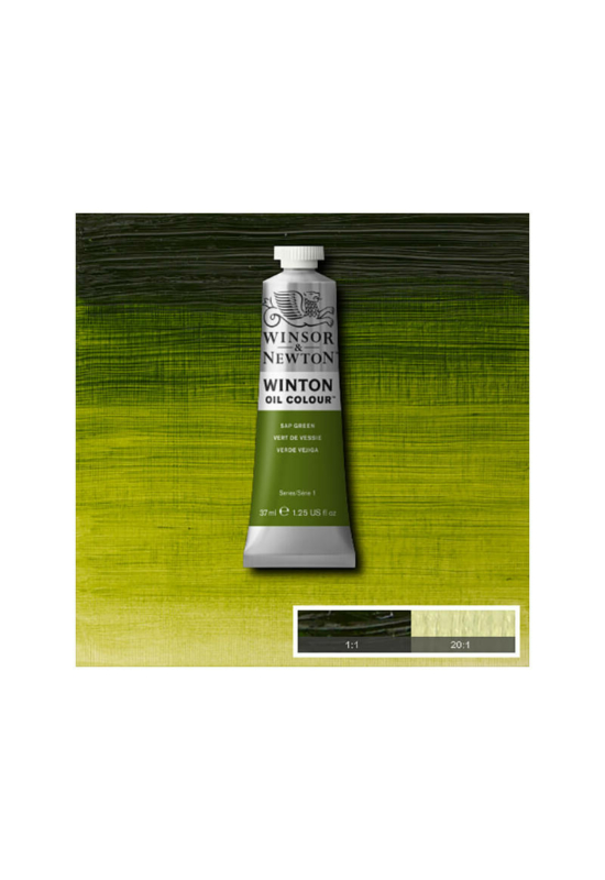Winsor&Newton Nedv Zöld, Olajfesték 37 ml, 599