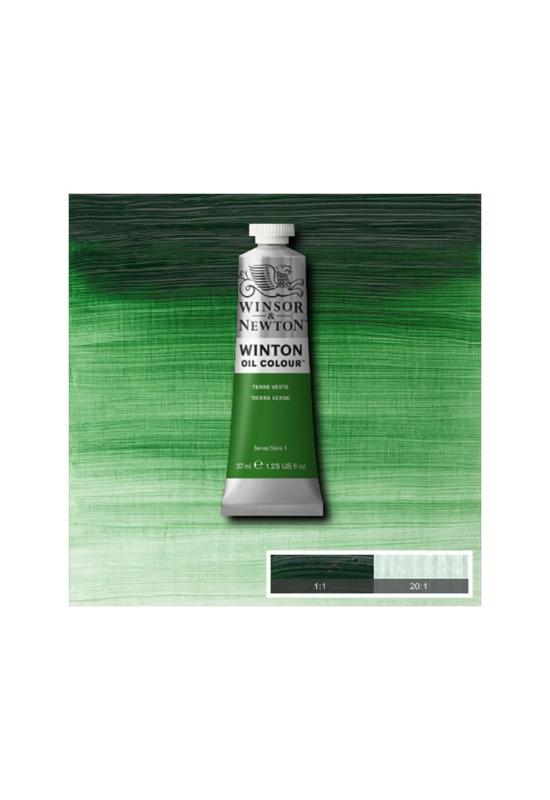 Winsor&Newton Zöld Föld Olajfesték 37 ml, 637